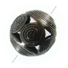 round copper bead w/ coil wire wholesale