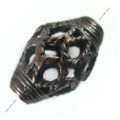 copper metal bead football shape wholesale