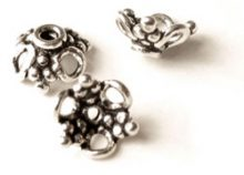 wholesale Bali Sterling Silver Bead Cap