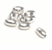 Sterling Silver Oval Beads wholesale