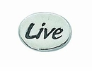 "Message Beads ""Live"" wholesale"