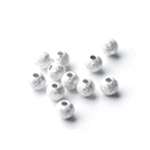 Sterling Silver Round Stardust Beads wholesale