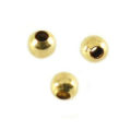 wholesale Gold Filled Seamless Beads 2mm .9mm hole