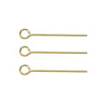 wholesale Base Metal eye pin yellow