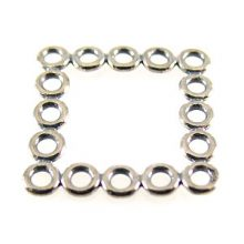 sterling silver Sterling Silver Square Multi Ring Links