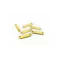 wholesale Spacer Bars 2 strand Gold