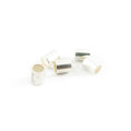 wholesale Crimp Tubes 4 Silver