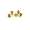 wholesale Crimp Beads 2 Gold