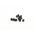 wholesale Crimp Beads #2 black 1.5gr