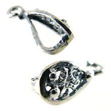 Sterling Silver Briolette Design Bail wholesale