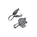 Sterling Silver Leaf Design Bail wholesale