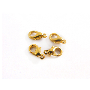 wholesale Lobster Clasps Extra Small Ni-free Gold Plated