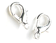 wholesale Lobster Clasps Silver Small