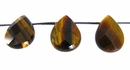 Tiger Eye briolette fact wholesale