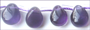 amythst briolette pear shape wholesale gemstones