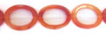 Red Agate Hollow Oval wholesale gemstones