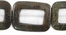 Bronzite Hollow Rectangle wholesale gemstones