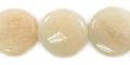 Pink Aventurine coin 14x5mm thickness wholesale gemstones