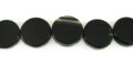 black onyx coins 14-15mmx4.5-5.5mm wholesale gemstones
