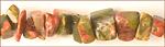 Unakite Jasper chips 5mm wholesale gemstones