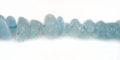 "Aquamarine Chips ~5mm 16"" strand wholesale gemstones"
