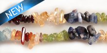 "Multicolor Dyed Chips 36"" 6mm wholesale gemstones"