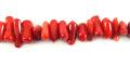 Dyed Bamboo coral chips 2x9mm wholesale gemstones