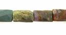 Ocean jasper faceted rectangles wholesale gemstones