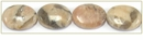 Feldspath graphic flat oval wholesale gemstones