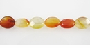 Carnelian oval faceted 8x10mm wholesale gemstones