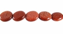 red goldstone oval 8x10mm wholesale gemstones