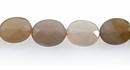 gray agate oval faceted 8x10mm wholesale gemstones