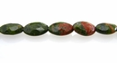 Unakite oval faceted 6x10mm wholesale gemstones