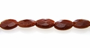 red goldstone oval faceted wholesale gemstones