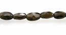 natural smoke quartz oval faceted wholesale gemstones