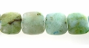 SYN. Chrysocolla Puff Square wholesale gemstones