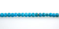 Stab.Turquoise 'AA' (Blue) Dice 4mm wholesale gemstones
