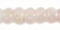 10mm Rose Quartz Rondelle wholesale gemstones