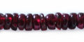 garnet 5x2-3mm rondelle wholesale gemstones