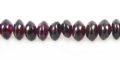 Garnet saucer beads 5x3mm wholesale gemstones