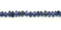 Iolite button beads 4mm wholesale gemstones
