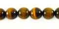 Tiger eye round beads 10mm wholesale