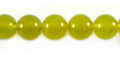 Olive Jade round beads 10mm wholesale gemstones
