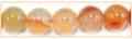 Orange Carnelian roud bead 10mm wholesale gemstones