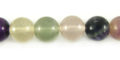 Rainbow Fluorite rounds 10mm wholesale gemstones