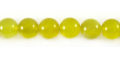 Olive Jade round beads 8mm wholesale gemstones