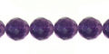 purple fluorite round beads faceted 8mm wholesale gemstones