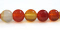 Carnelian round beads 8mm wholesale gemstones
