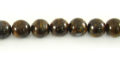 Bronzite round beads 8mm,51pcs/str wholesale gemstones