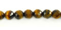 Tiger Eye faceted round 6mm wholesale gemstones